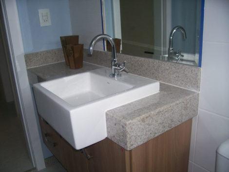 granito para banheiro com cuba 470x353 - TIPOS DE GRANITO para cozinha, banheiro, churrasqueira