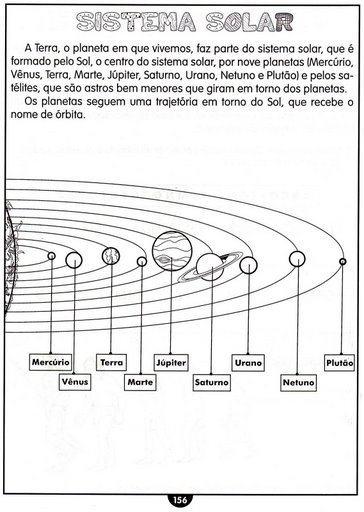 imagem 10 - GEOGRAFIA Atividades sobre o Sistema Solar para imprimir