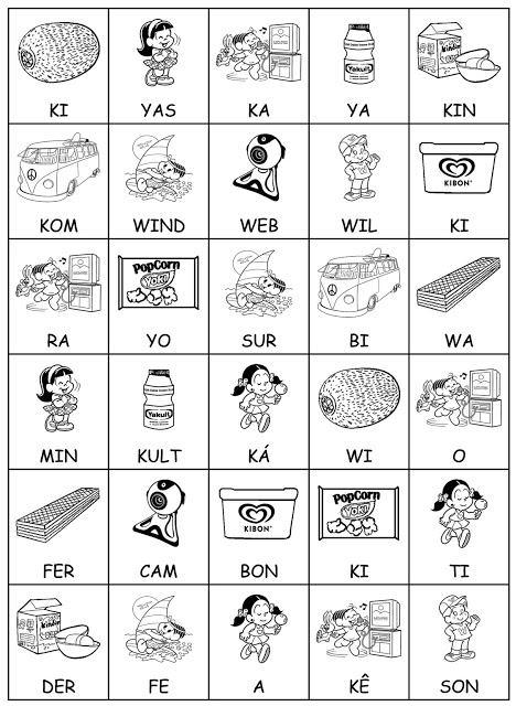 imagem 16 2 - Atividades Jogo das Sílabas para imprimir para ensino fundamental