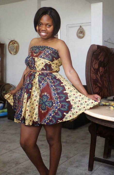 imagem 18 3 470x719 - VESTIDOS DE CAPULANA Africanos modelitos incríveis