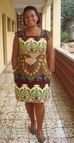 imagem 19 2 - VESTIDOS DE CAPULANA Africanos modelitos incríveis