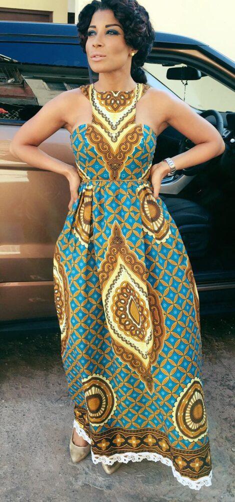 imagem 25 1 470x1002 - VESTIDOS DE CAPULANA Africanos modelitos incríveis
