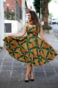 imagem 26 - VESTIDOS DE CAPULANA Africanos modelitos incríveis