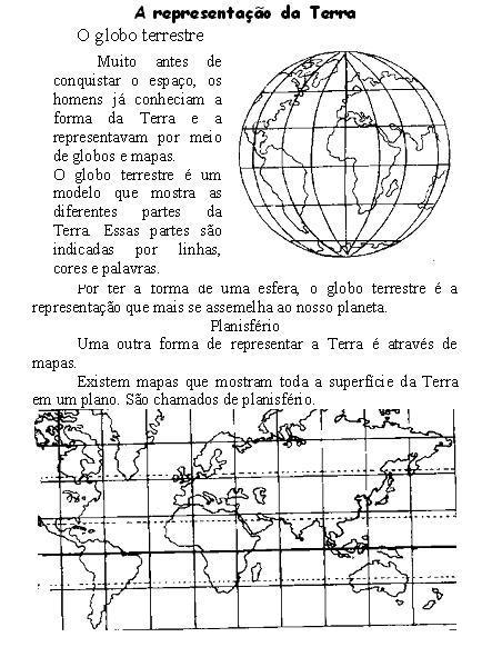 imagem 3 - GEOGRAFIA Atividades sobre o Sistema Solar para imprimir