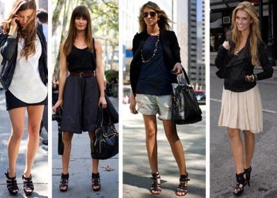 imagem 5 8 - SANDÁLIAS GLADIADORAS DE SALTO com saia, calça, shorts e vestido