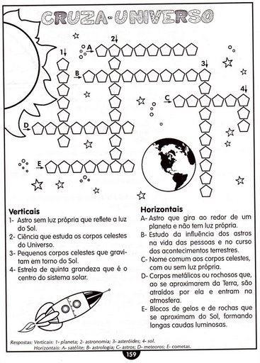 imagem 8 1 - GEOGRAFIA Atividades sobre o Sistema Solar para imprimir