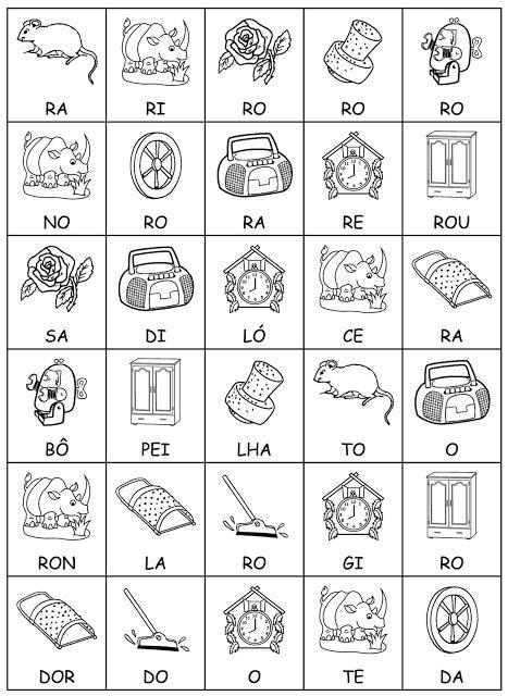 imagem 8 3 - Atividades Jogo das Sílabas para imprimir para ensino fundamental