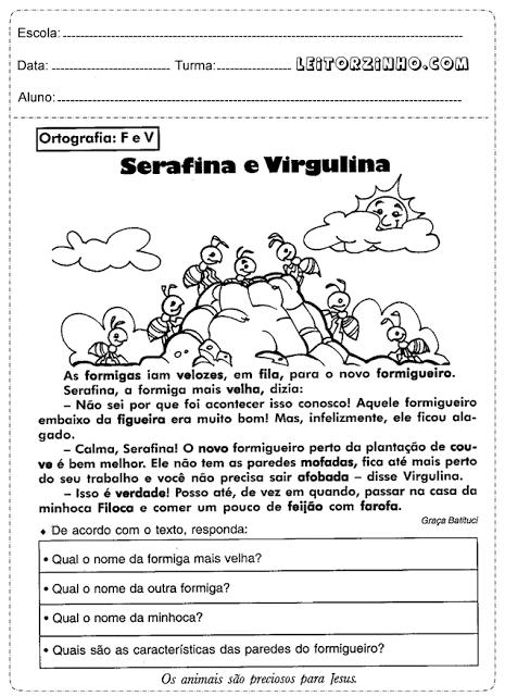 imagem 8 - Atividades de Português para 3 ano para imprimir
