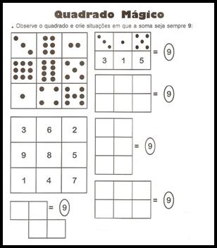 imagem 9 - Atividades sobre raciocínio lógico para alunos do fundamental