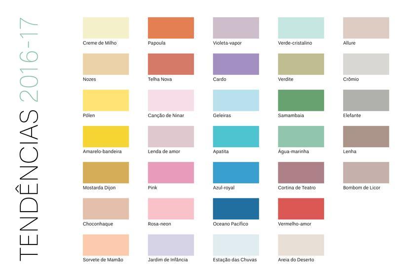 Tabela De Cores Suvinil E Ambientes Pintados Com As Cores Moda Decor