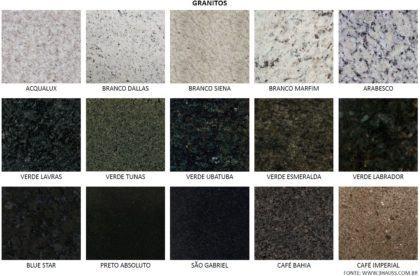 tipos de granito com nomes 420x276 - TIPOS DE GRANITO para cozinha, banheiro, churrasqueira