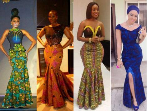 vestidos de capulana africanos modelitos incr veis moda