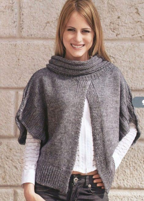 11 6 470x658 - COLETES DE TRICÔ FEMININO moda inverno