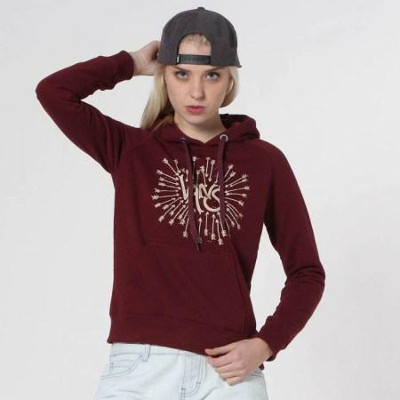 23 3 - MOLETOM FEMININO VANS moda jovem outono inverno