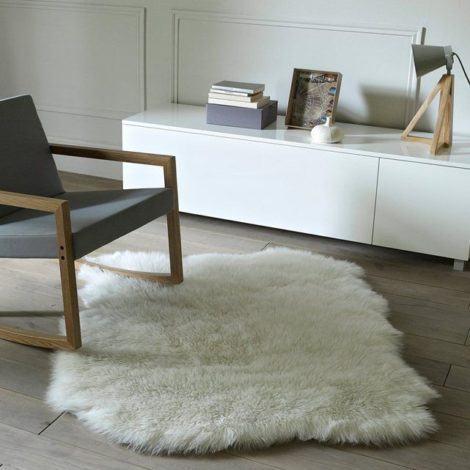 24 470x470 - TAPETE DE PELE DE CARNEIRO decoração e conforto pra sua casa