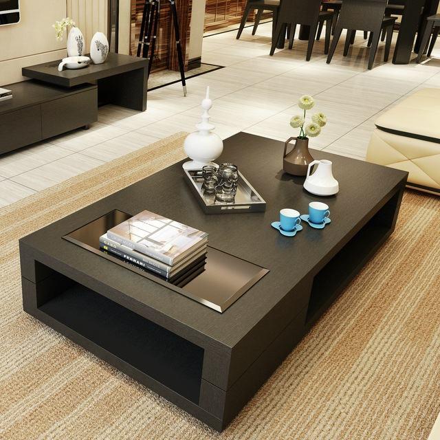 Belas mesas de centro para sala de estar decorativas for Mesas de centro para sala modernas