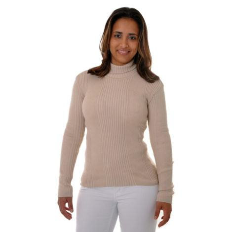blusa de la feminina com gola alta 470x470 - BLUSAS DE LÃ FEMININA você maravilhosa no inverno