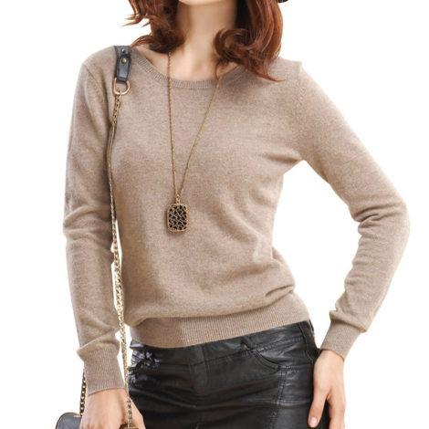blusa de la feminina para vestir com calca de couro 470x470 - BLUSAS DE LÃ FEMININA você maravilhosa no inverno