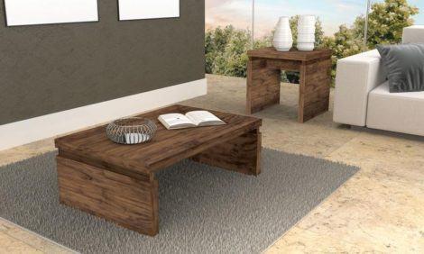 mesas de centro para sala de estar em madeira rustica 470x282 - Belas MESAS DE CENTRO PARA SALA DE ESTAR decorativas