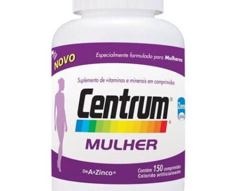 Centrum Mulher 470x375 - Suplemento de Vitaminas Centrum Mulher Benefícios
