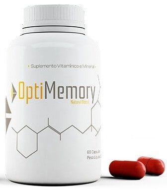 Optimemory Capsulas - Remédio para memória de Estudantes de Concurso Público e Vestibulandos