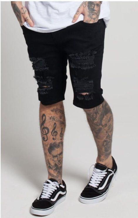 bermuda jeans preta masculina 1 470x743 - Bermuda Jeans Masculina Como Usar, Modelos e cores