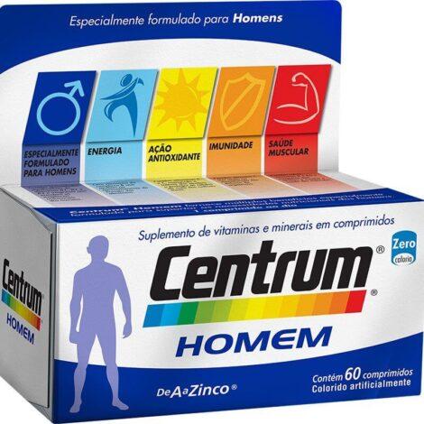 centrum homem 470x470 - Centrum Homem Suplemento de Vitaminas Benefícios