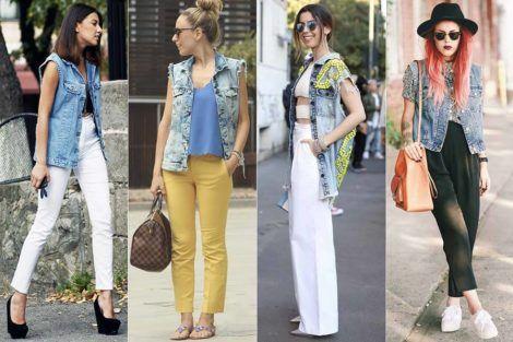 colete jeans com calca 3 470x313 - Colete Jeans Feminino Confira como Combinar com Tudo