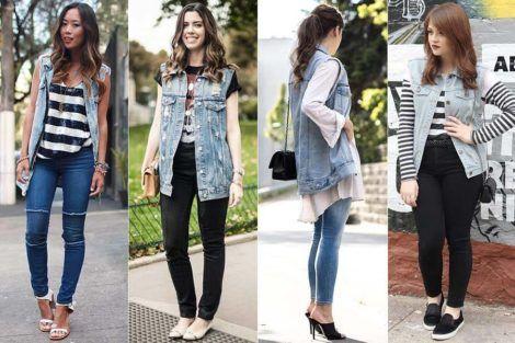 colete jeans com calca 4 470x313 - Colete Jeans Feminino Confira como Combinar com Tudo