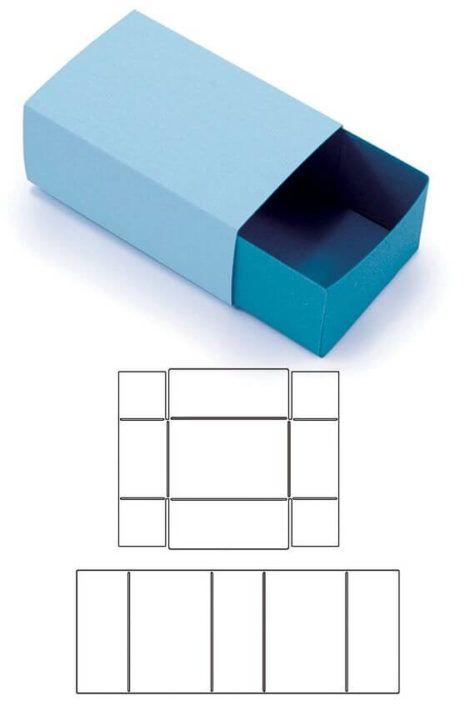 imagem 13 3 470x705 - Moldes de Caixinhas Artesanais para Imprimir