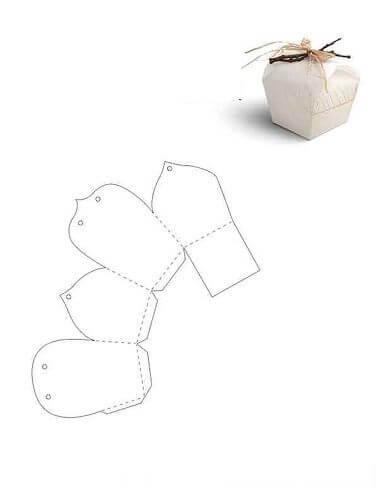 imagem 21 3 - Moldes de Caixinhas Artesanais para Imprimir