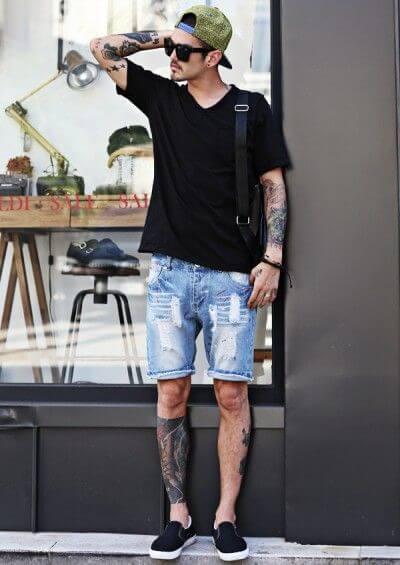 imagem 4 3 - Bermuda Jeans Masculina Como Usar, Modelos e cores