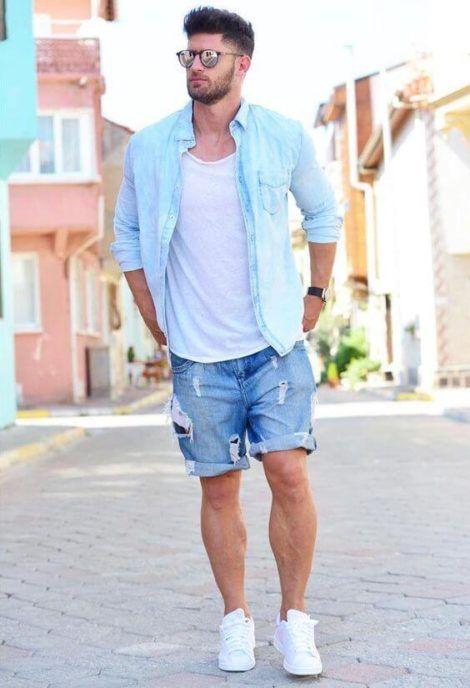 imagem 5 9 470x688 - Bermuda Jeans Masculina Como Usar, Modelos e cores