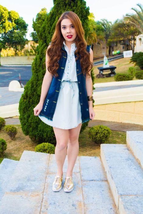 imagem 6 5 470x705 - Colete Jeans Feminino Confira como Combinar com Tudo