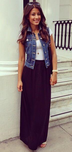 imagem 7 6 - Colete Jeans Feminino Confira como Combinar com Tudo