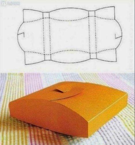 molde de caixinha para imprimir 5 470x505 - Moldes de Caixinhas Artesanais para Imprimir