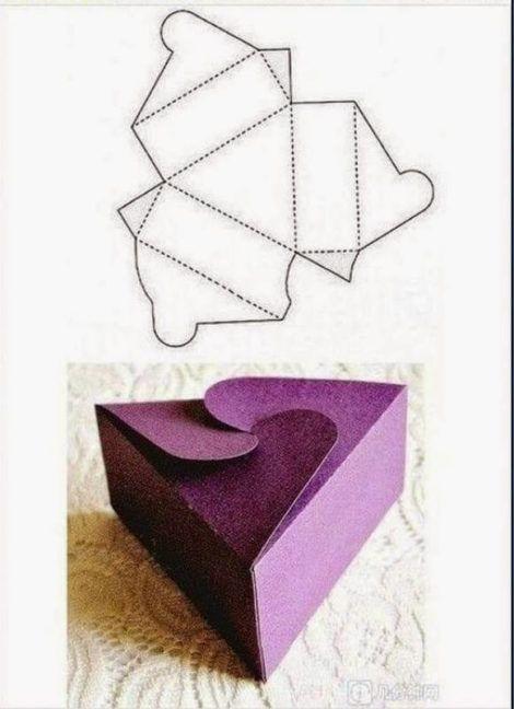 molde de caixinha para imprimir 6 470x648 - Moldes de Caixinhas Artesanais para Imprimir