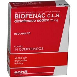 Antiinflamatorio Biofenac - Antinflamatório para Dente Extraído, para Dor, Tratamento