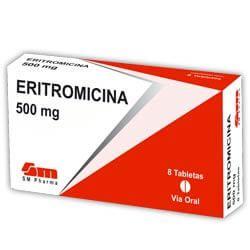 Eritromicina 500 mg - Antiinflamatório para Foliculite, Nome, Tratamento