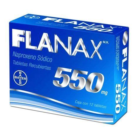 Flanax 550 mg 470x470 - Antiinflamatório para Torção no Tornozelo, nomes, Tratamento