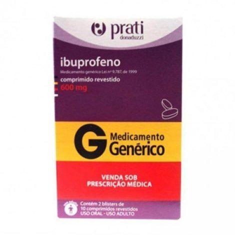 Ibuprofeno 600 mg 470x470 - Antiinflamatório para ATM, Nomes, Tratamentos