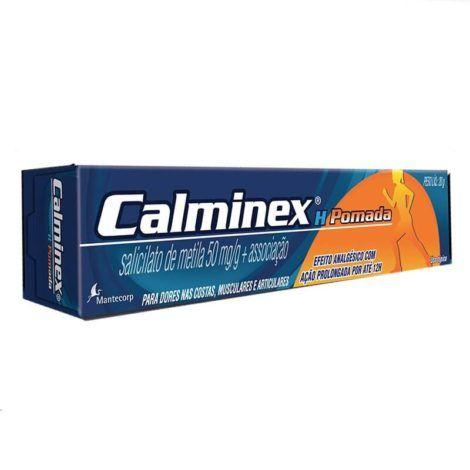 Pomada Calminex 470x470 - Antiinflamatório para Luxação no Joelho, nomes, Tratamento
