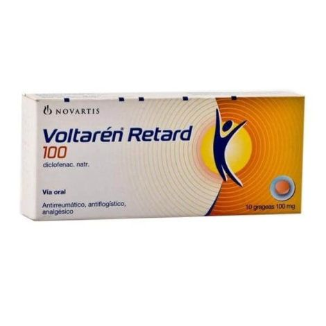 Voltaren Retard 100 mg 470x470 - Antiinflamatório para Luxação no Joelho, nomes, Tratamento