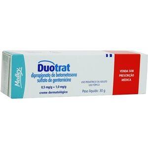 pomada duotrat - Antiinflamatório para Foliculite, Nome, Tratamento