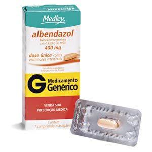 Albendazol Comprimido - Tratamento com Pomada para Bicho Geográfico, Nomes