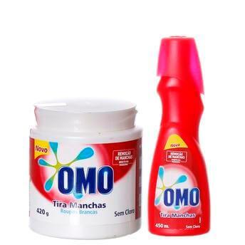 Omo Kit Tira Manchas - Como Tirar Manchas de Gordura e Desodorante das Camisas