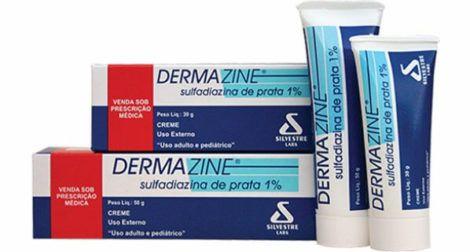 Pomada Dermazine 470x252 - Pomada para queimadura, nomes, Tratamento
