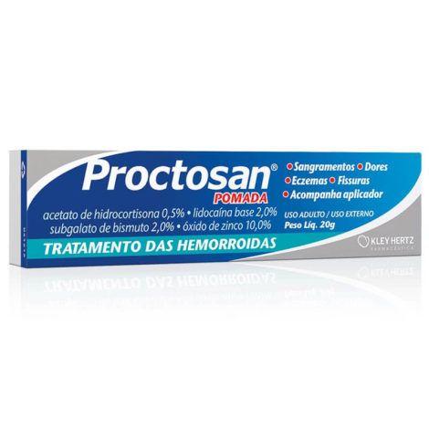Pomada Proctosan 470x470 - Tratamento com Pomada para Hemorroida, Nomes