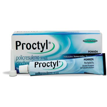 Pomada Proctyl - Tratamento com Pomada para Hemorroida, Nomes