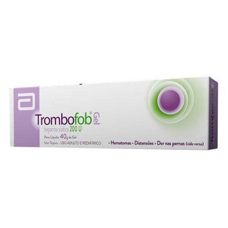Pomada Trombofob 470x470 - Pomada Para Varicose e varizes, nomes, Tratamento